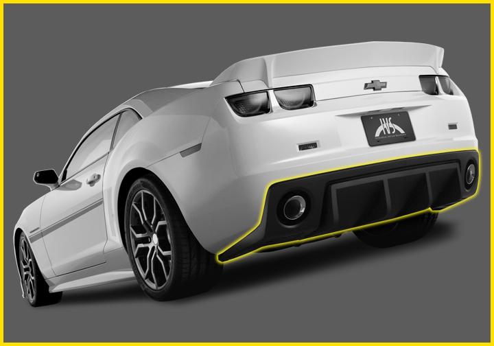 Camaro HAVOC Rear Diffuser