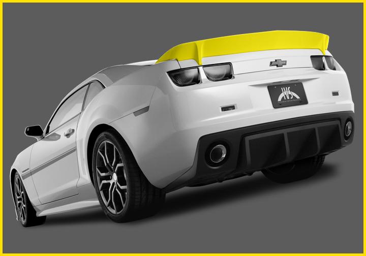 Camaro HAVOC Rear Spoiler